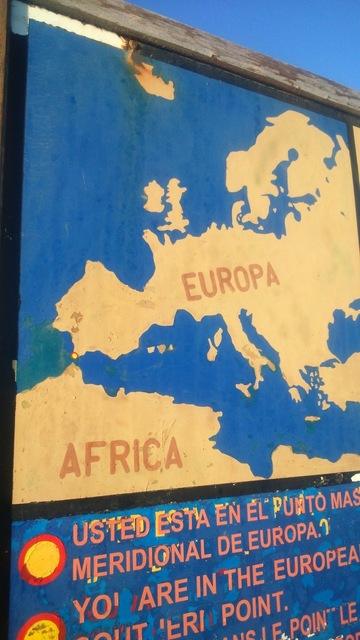 アフリカとヨーロッパの地図