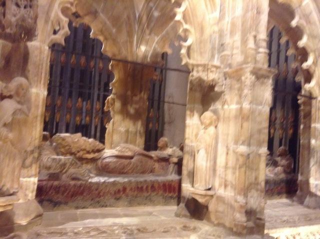 石畳の聖ドミンゴのお墓