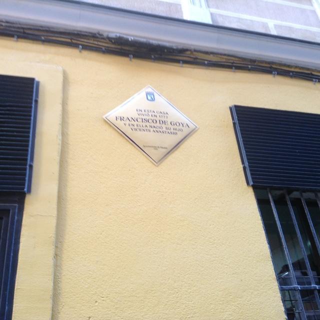 ゴヤが住んでいた家