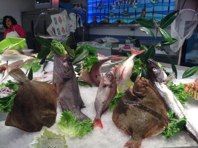 市場魚売り場