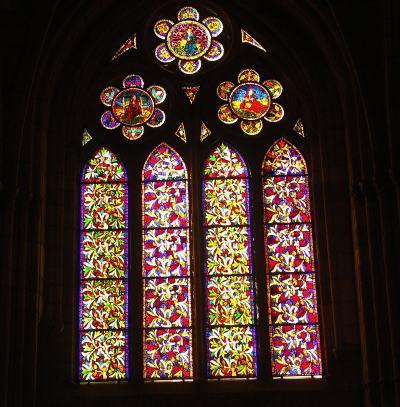 レオン大聖堂、ステンドグラス