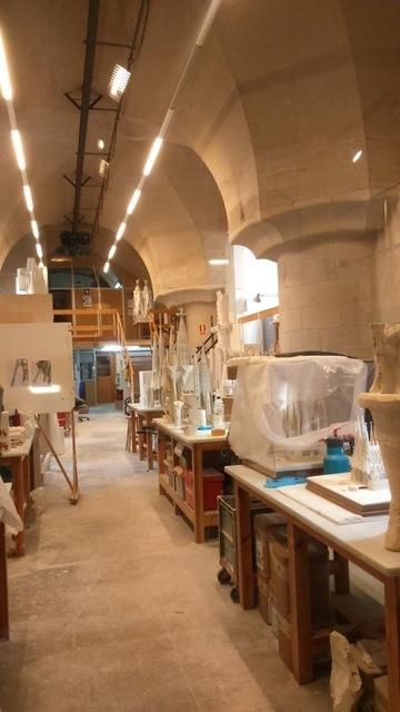 サグラダファミリア教会中枢